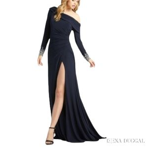 12231D Cassandra off The Shoulder Gown